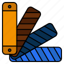 color, pallete, pantone, swatch icon