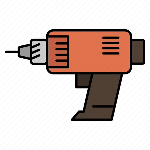 Cordless, drill, electronics, machine, power icon - Download on Iconfinder