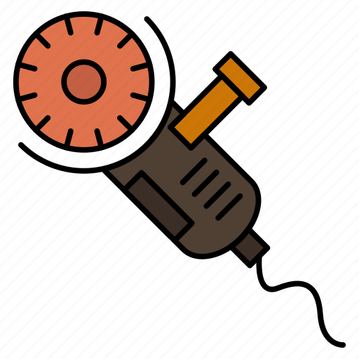 blade, circular, power, saw, tool icon