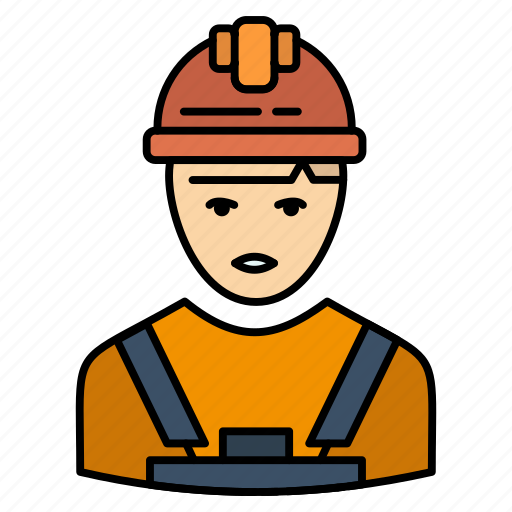 Avatar, engineer, industry, supervisor, worker icon - Download on Iconfinder
