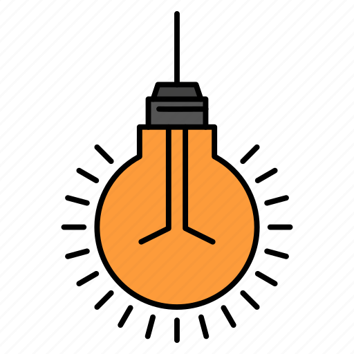 bulb, idea, light, suggestion, tips icon