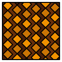 floor, slab, square, stripes, tile, tiles, wall icon