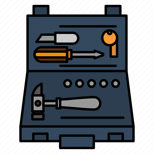 Box, building, construction, repair, tools icon - Download on Iconfinder
