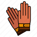 building, construction, gloves, repair icon