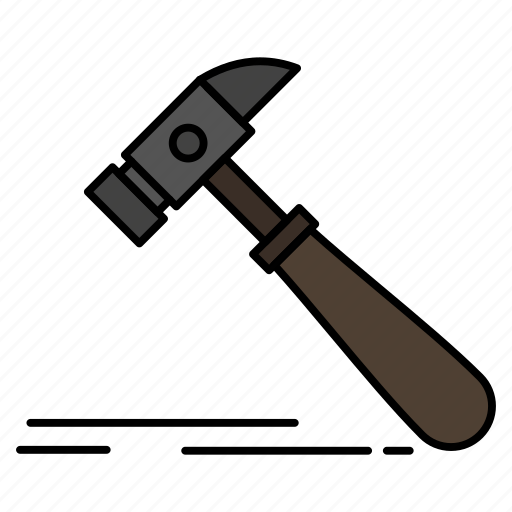 Carpenter, construction, hammer, strong, tool icon - Download on Iconfinder