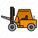 lifter, lifting, transport, truck icon