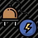 cable, electricity, electronics, negative, poles icon