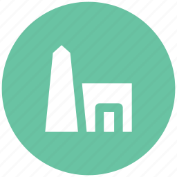 ancient building, historical place, landmark, monument, old building icon