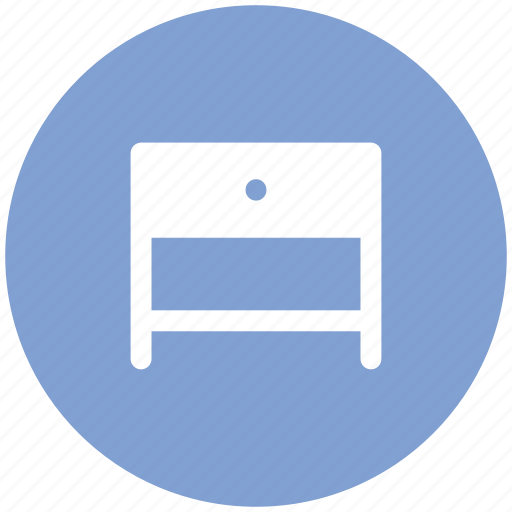 archive, drawer, drawer table, furniture, table icon