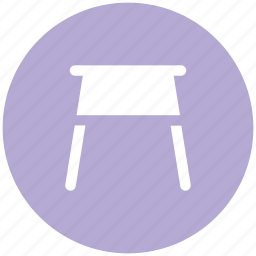 bar stool, furnishing, furniture, restaurant furniture, seating icon