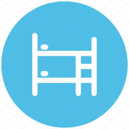 bed, bunk, bunk bed, double deck bed, kids bunk bed icon
