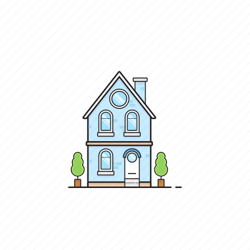 Building, home, house, pot, residence, tree icon - Download on Iconfinder