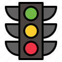 light, traffic icon