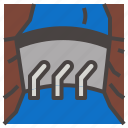 dam, water icon