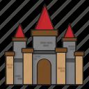 architecture, building, castle, city, construction