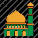 architecture, building, city, construction, mosque