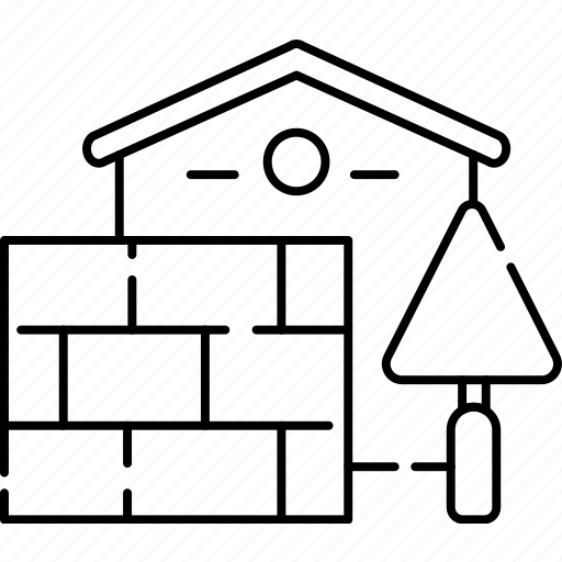 Walls, house, home, building icon - Download on Iconfinder