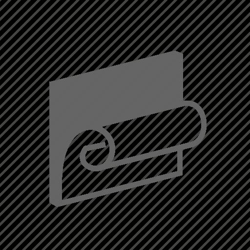 design, paperhangings, repair, room, side, wall, wallpaper icon