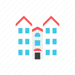 3, apartment icon