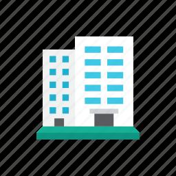 2, buildings icon