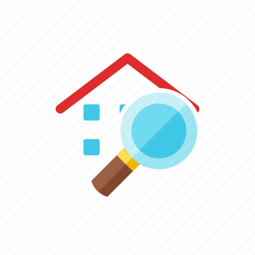 find, house icon