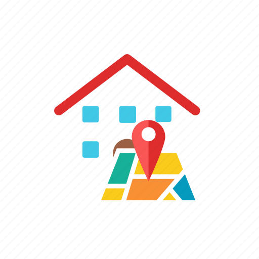house, location icon