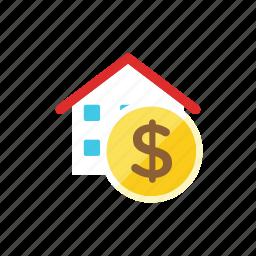 house, money icon