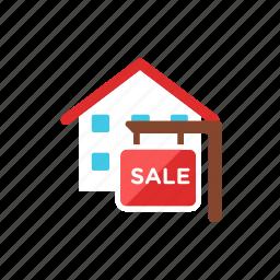 house, sale icon