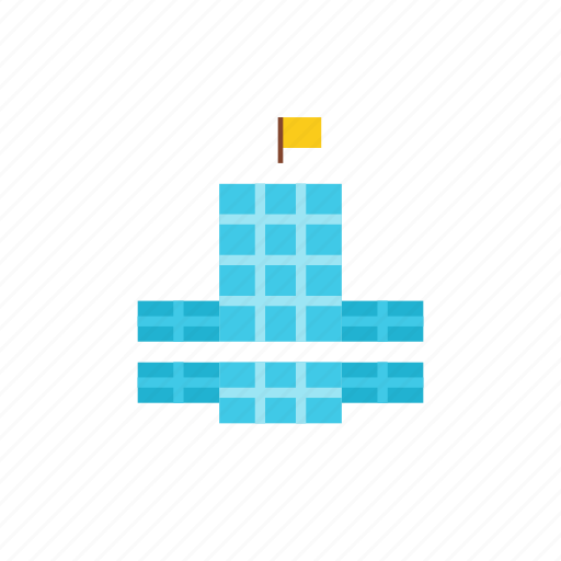 3, tower icon