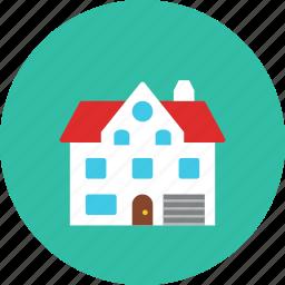 3, house icon