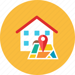 house, location icon