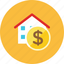 house, money icon