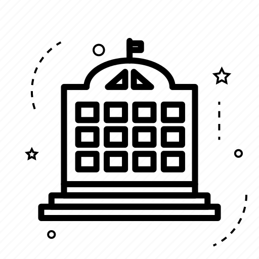 apartment, building, estate, home, house, place, real icon