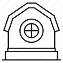 country, farmhouse, home, house icon