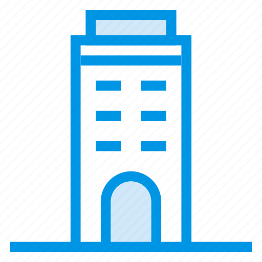 architecture, building, commercial, estate, property, tower, town icon