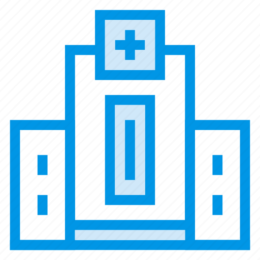 architecture, building, city, commercial, estate, hospital, property icon