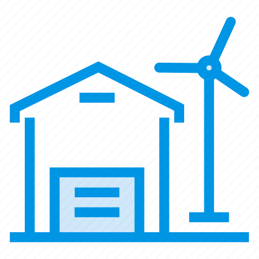 architecture, building, commercial, energy, estate, industry, property icon
