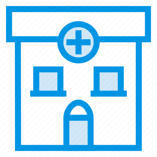 architecture, building, commercial, estate, hospital, medical, property icon