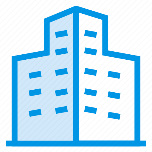 architecture, building, city, commercial, estate, plaza, property icon