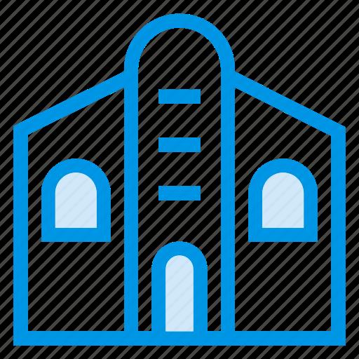 apartment, architecture, building, comercial, estate, property, town icon