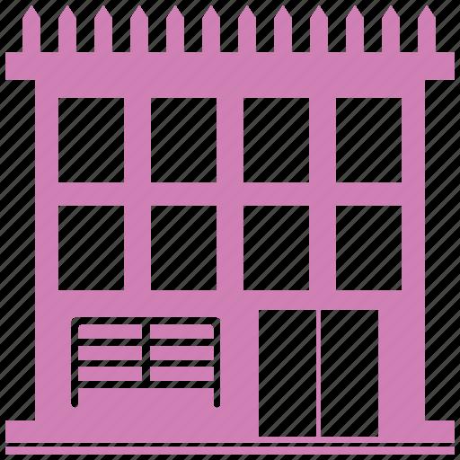 building, hotel, hotel building, inn, shop, tavern icon