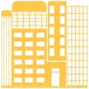 building, city, hotel, office