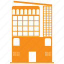 building, city, estate, home, hotel, house, town