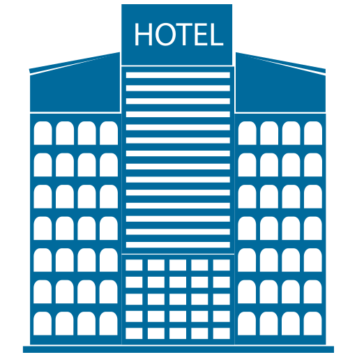 building, hotel, skyscraper, tower icon