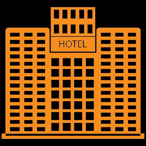 building, hotel, skyscraper, tower icon