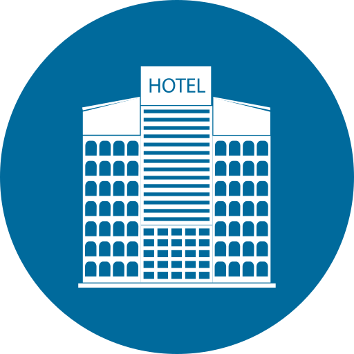 building, city, home, hotel icon