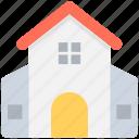 house, hut, lodge, shack, villa