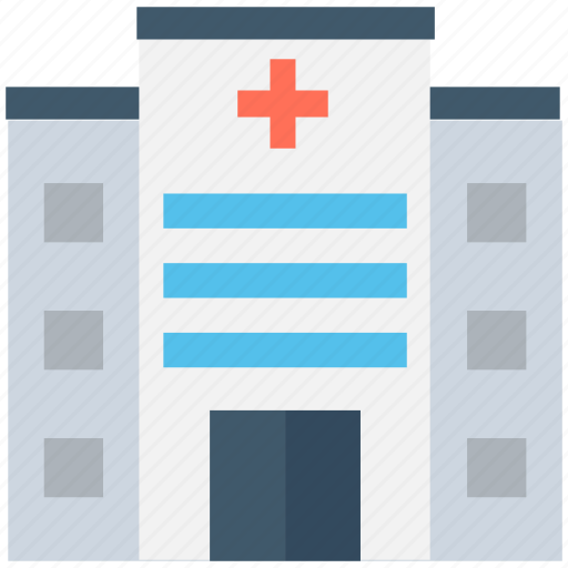 building, health clinic, hospital, medical center, medical facility icon