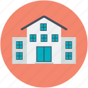 lodge, house, luxury house, modern house, residence icon