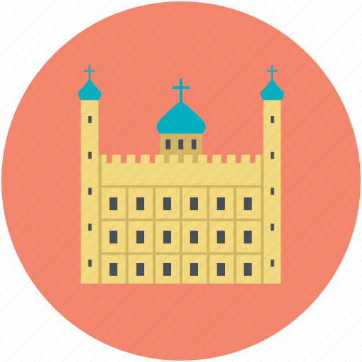 ancient building, historic building, landmark, library, museum icon